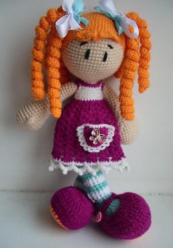 Вязание игрушек крючком для кукол