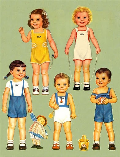 Одягни ляльку