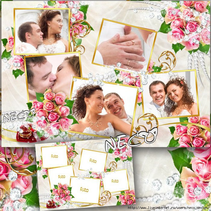 1332677487_Wedding_frame__wedding_collage_by_neco (700x700, 375Kb)