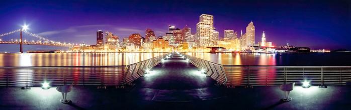 Красочный городской пейзаж фотографа Simon Christen 6 (700x219, 45Kb)