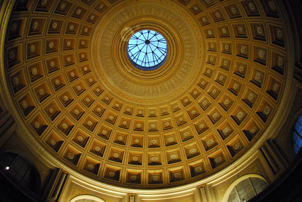 Building Language Coffered Ceiling  Historic