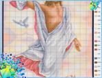 Иисус христос схема вышивки крестом