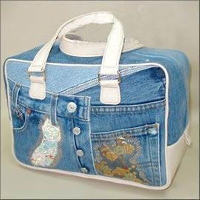 Как с джинс сделать сумку