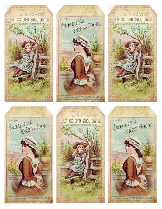 1880's pretty advertisement tags ~ lilac-n-lavender (540x700, 337Kb)