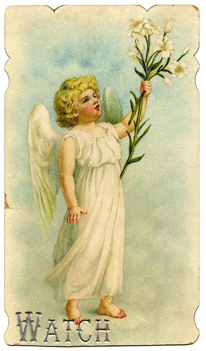 Картинки для декупажа с ангелами 183