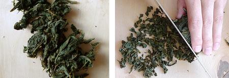 Подробный рецепт приготовления Копорского чая. Сушка