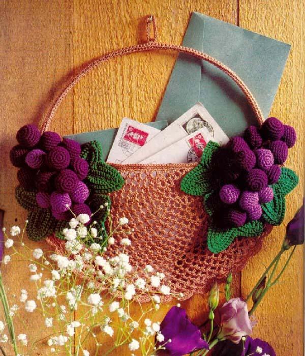 панно с гроздьями винограда (600x700, 101Kb)
