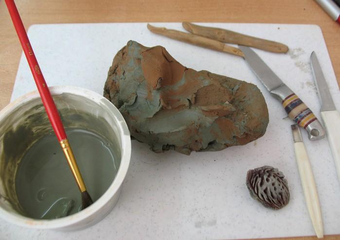 Как сделать глину виде 304