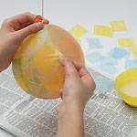 Пасхальное яйцо в технике папье-маше