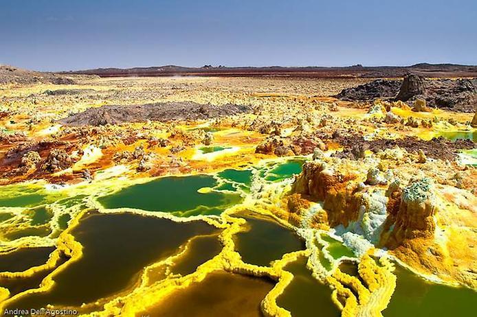 Вулкан в эфиопии фото