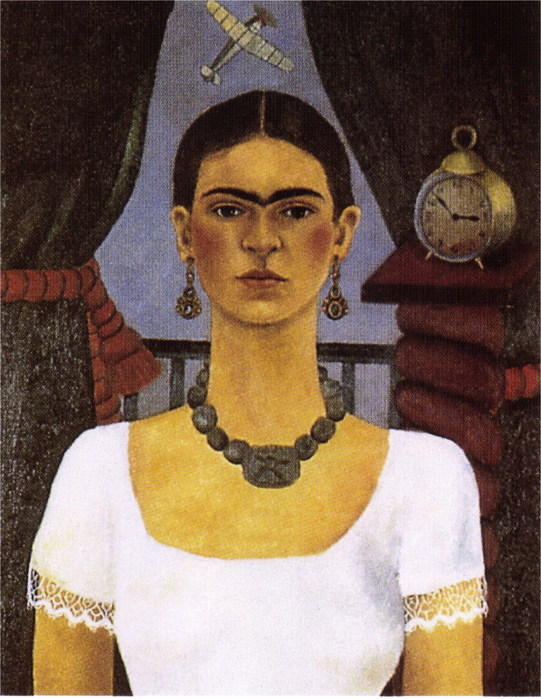 Автопортрет - Время летит, 1929 (541x700, 125Kb)