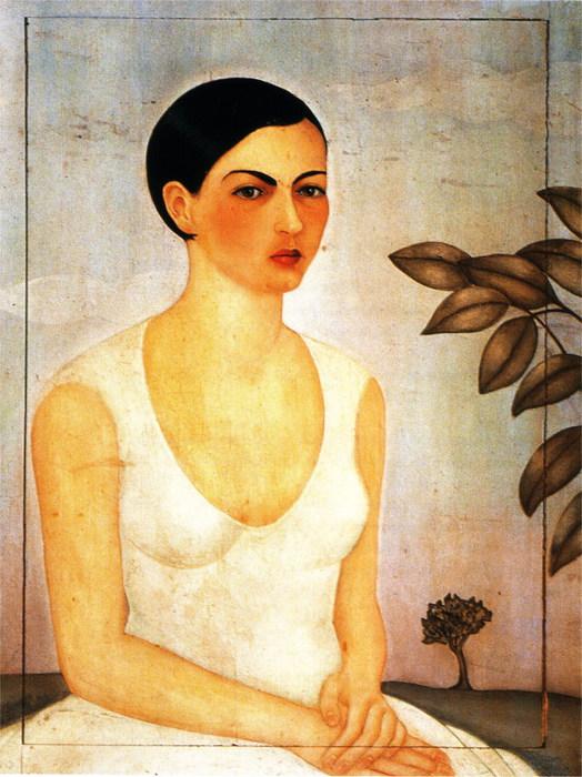 Портрет Кристины, моей сестры 1928 (524x700, 121Kb)