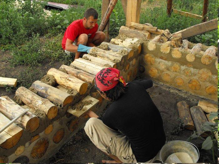 Построить домик из бревен своими руками 526