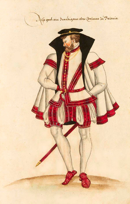 the evolution of clothing in the renaissance period