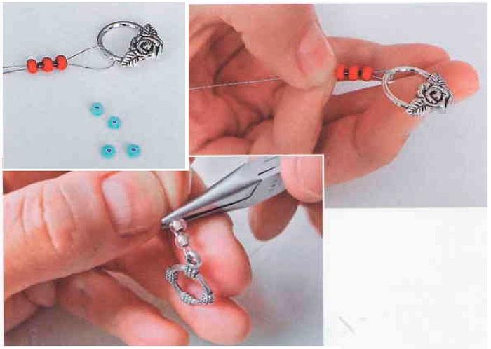 Как сделать застежку для колье своими руками