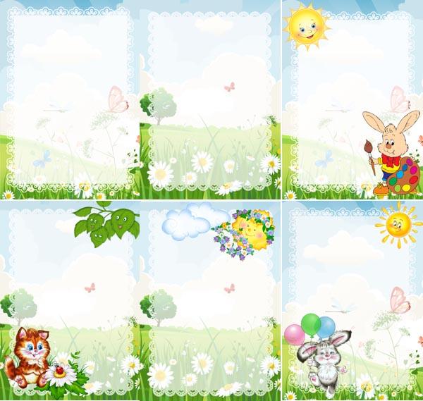 Картинки о весне для оформления детского стенда