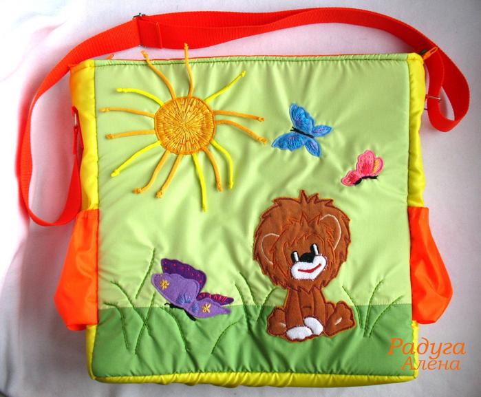 сумка для мамы Львенок 1 (700x577, 522Kb)