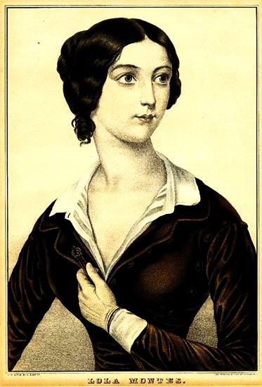 Лола Монтес. Литография (373x550, 63Kb)