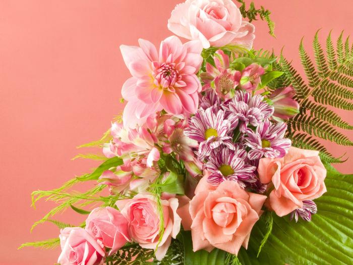 Картинки цветы поздравляем 4