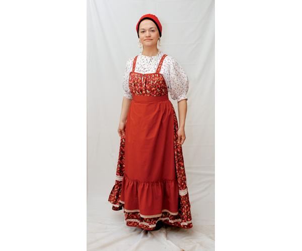 народный костюм карелов фото