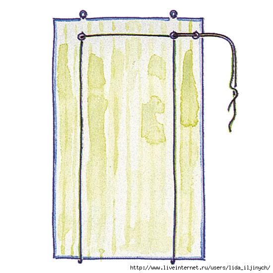 Как самому сделать рулонные шторы своими руками