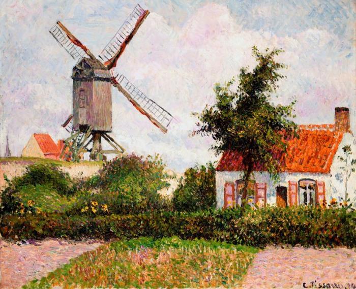 Moară de vânt de la Knock, Belgia (700x569, 168KB)