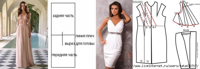 Как сшить платье в греческом стиле короткое (31 фотокарточки ) ::