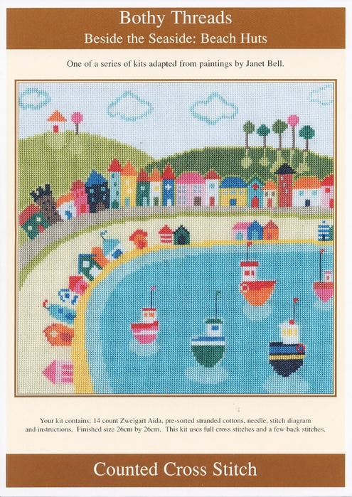 Bothy Threads - Beach Huts (495x700, 320Kb)