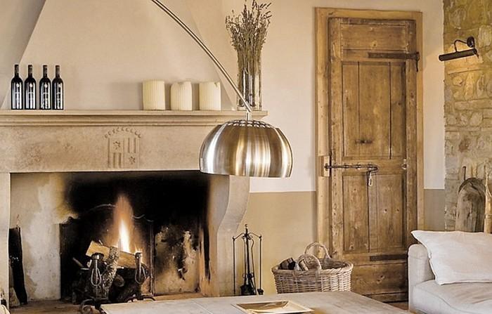 Солнечный тосканский стиль интерьера гостиницы Conti di San Bonifacio 12 (700x447, 86Kb)