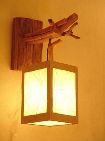 Как сделать настенный светильник своими руками