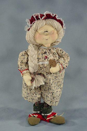 Кукла-бабушка своими руками