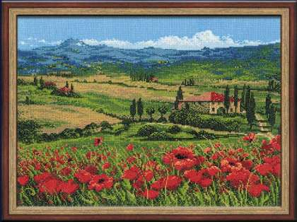 Тоскана. Вышивка крестом