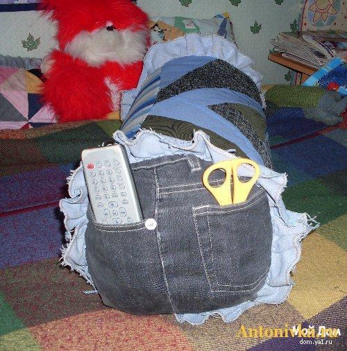 Описание: сделать шорты из старых джинсов (11.