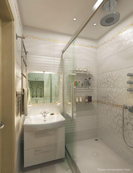 Decorative bathroom wall shelves