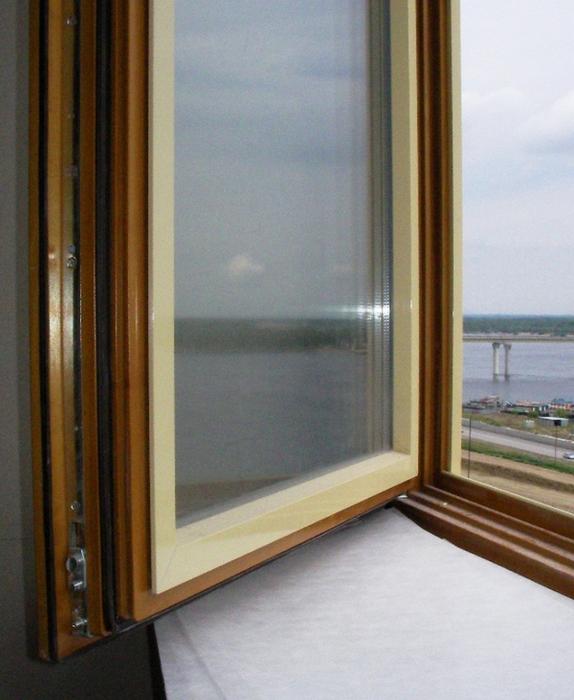 Современные дерево алюминиевые окна 9 (574x700, 417Kb)