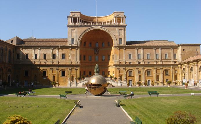 Григорианский Этрусский музей (второй этаж)