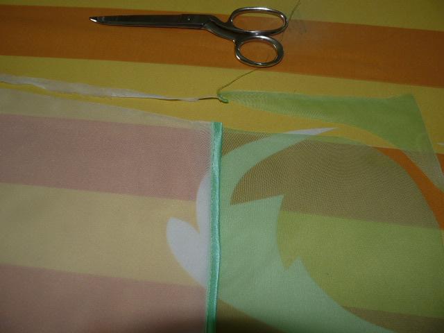 как соединитьь 2 кусочка ткани