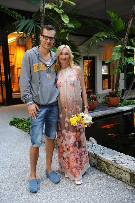 Кристина Орбакайте  и Михаил Земцов (465x700, 119Kb)