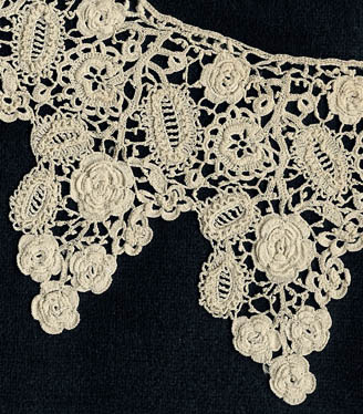 Старинные кружева. - Страница 9 85491524_large_l124irish_crochet_collarplus