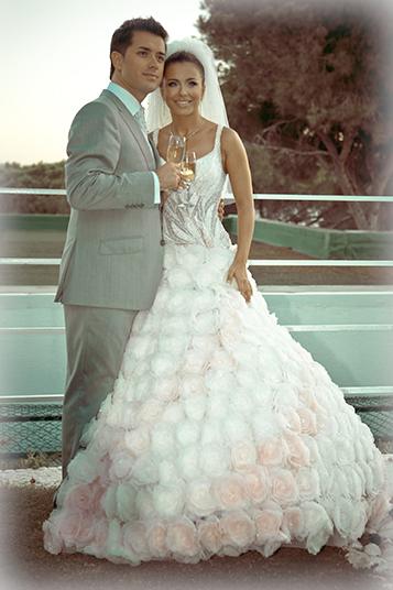 Фото свадебного платья ани лорак