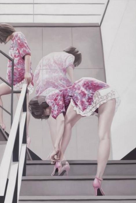 Необычные живые картины Ho-Ryon Lee 9 (470x700, 198Kb)