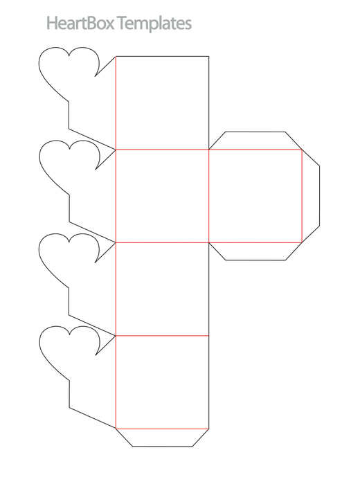 Схема коробку для подарка своими руками