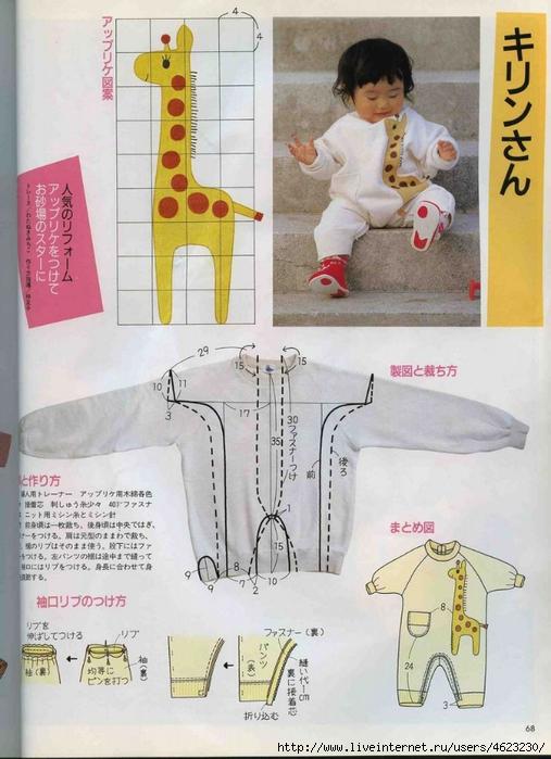 Как сшить детский комбинезон своими руками из флиса выкройка