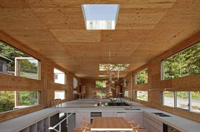 Самые необычные дома - японский дом Nest (Гнездо) 1 (700x464, 97Kb)