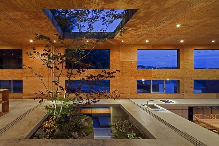 Самые необычные дома - японский дом Nest (Гнездо) 5 (700x466, 111Kb)