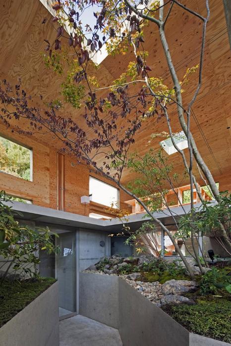 Самые необычные дома - японский дом Nest (Гнездо) 8 (466x700, 456Kb)