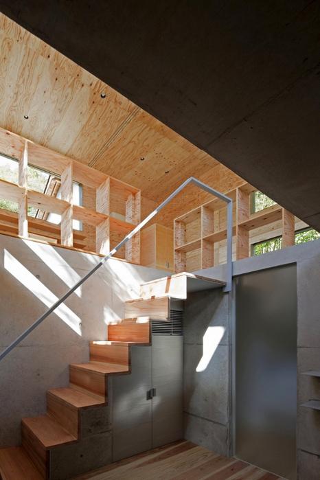 Самые необычные дома - японский дом Nest (Гнездо) 10 (466x700, 309Kb)
