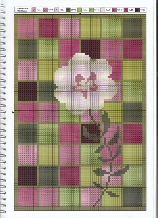 пиксельный цветок сх (508x700, 310Kb)