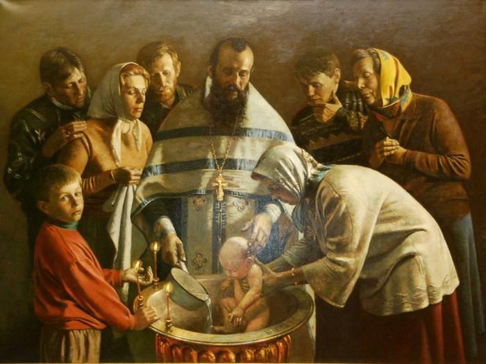 Наречение имени -Крещение (700x525, 98Kb)