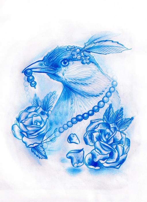 victorian_bird_by_diabolos111 (511x700, 244Kb)